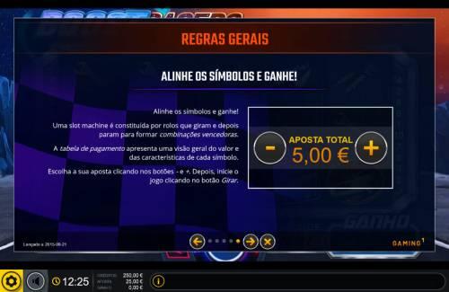 Boost Racers Big Bonus Slots General Game Rules