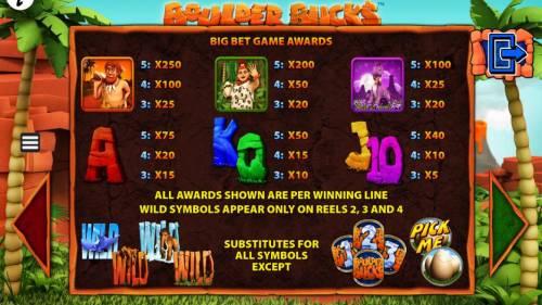 Boulder Bucks review on Big Bonus Slots
