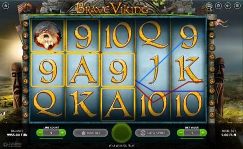Brave Viking review on Big Bonus Slots