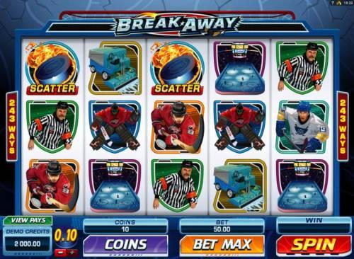 Break Away review on Big Bonus Slots