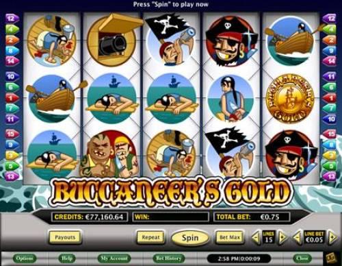 Buccaneer's Gold review on Big Bonus Slots