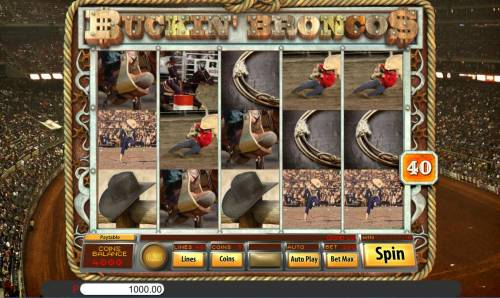 Buckin' Broncos review on Big Bonus Slots