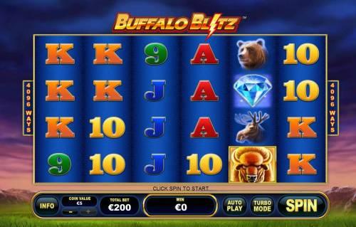 Buffalo Blitz review on Big Bonus Slots