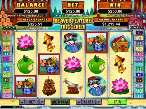 Builder Beaver review on Big Bonus Slots