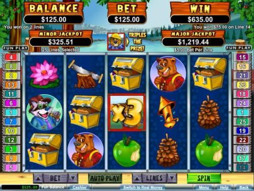 Builder Beaver review on Big Bonus Slots