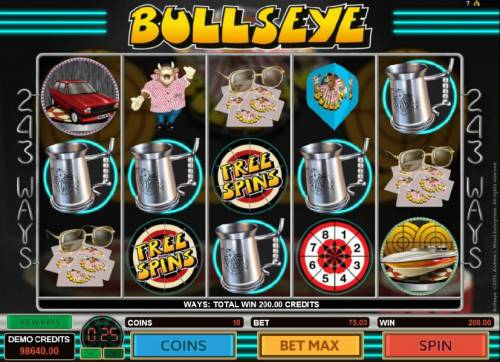 Bullseye review on Big Bonus Slots