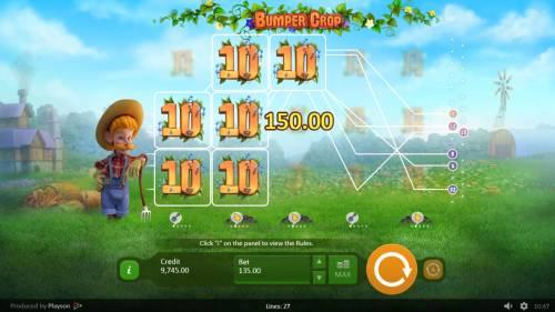 Bumper Crop review on Big Bonus Slots