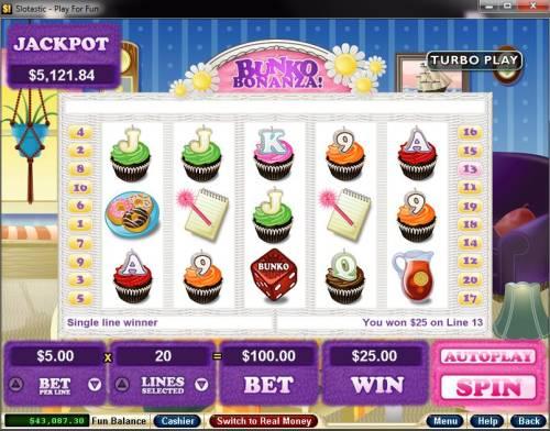 Bunko Bonanza review on Big Bonus Slots