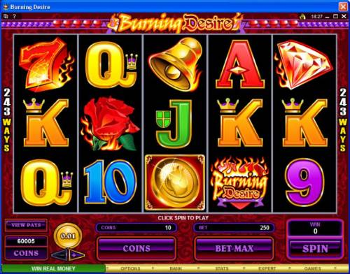 Burning Desire review on Big Bonus Slots