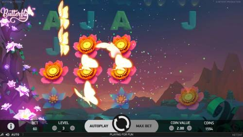 Butterfly Staxx review on Big Bonus Slots