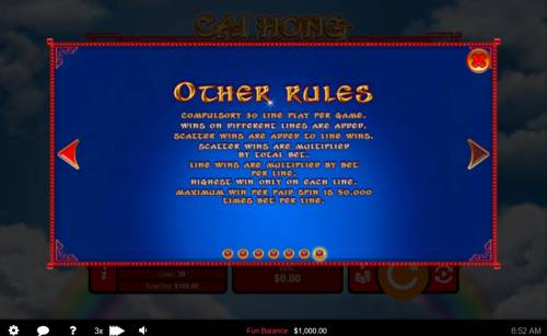 Cai Hong review on Big Bonus Slots