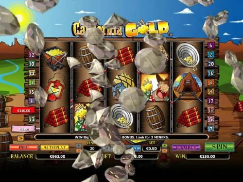 California Gold Big Bonus Slots five of a kind triggers a big win