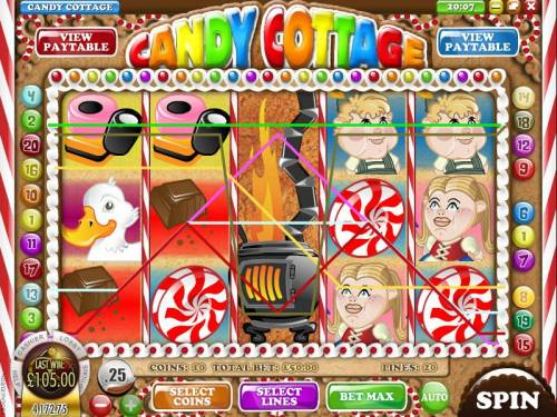 Candy Cottage review on Big Bonus Slots