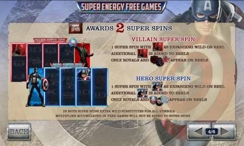 Captain America The First Avenger review on Big Bonus Slots