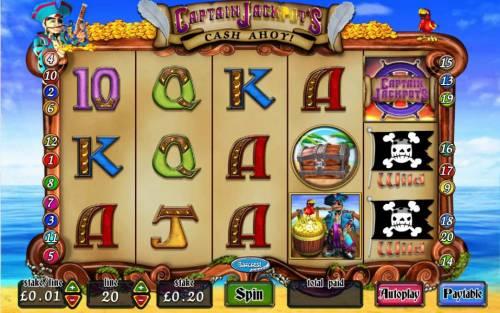 Captain Jackpot's Cash Ahoy review on Big Bonus Slots