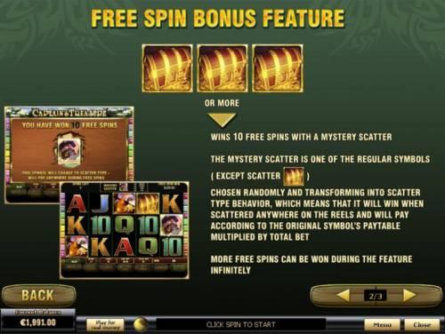 Captain's Treasure Pro review on Big Bonus Slots