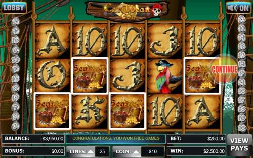 Caribbean Gold review on Big Bonus Slots