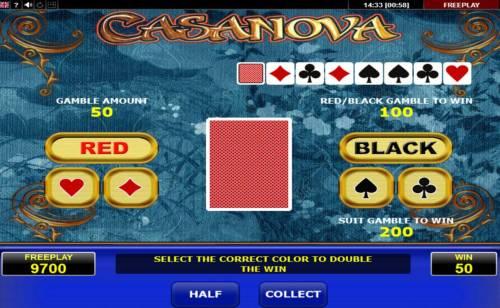 Casanova review on Big Bonus Slots