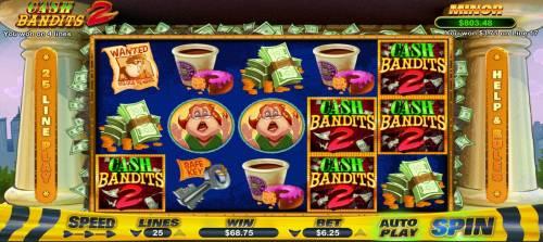 Cash Bandits 2 review on Big Bonus Slots