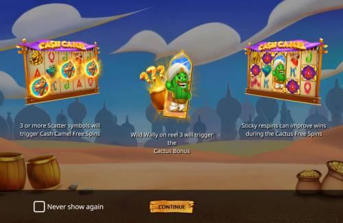 Cash Camel Big Bonus Slots Introduction