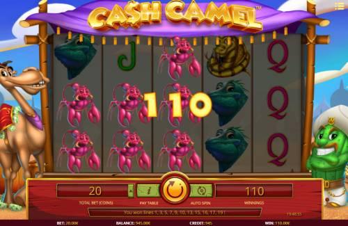 Cash Camel review on Big Bonus Slots