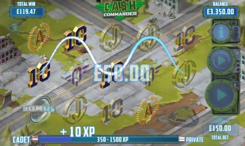 Cash Commander review on Big Bonus Slots