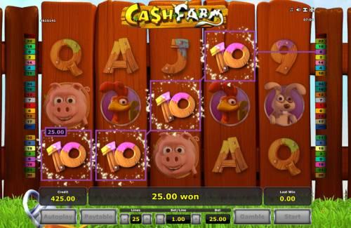 Cash Farm Big Bonus Slots Four of a kind