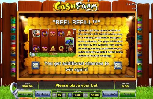 Cash Farm Big Bonus Slots Reel Refill