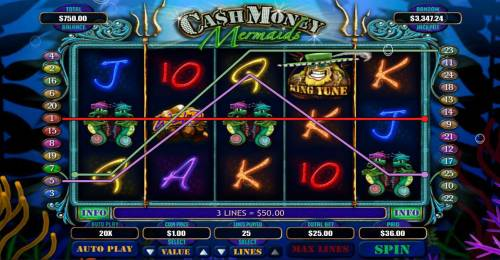 Cash Money Mermaids review on Big Bonus Slots