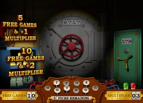 Cash Bandits review on Big Bonus Slots