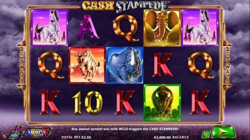 Cash Stampede review on Big Bonus Slots