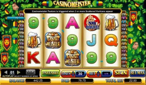 Casinomeister review on Big Bonus Slots