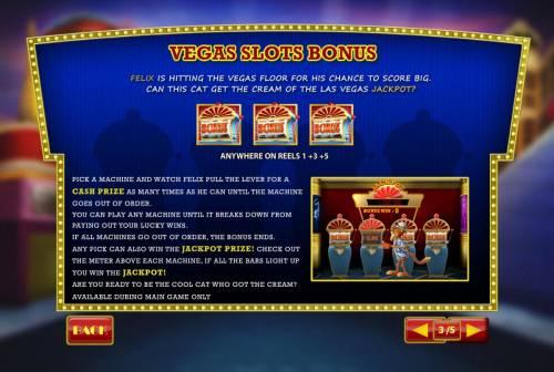 Cat in Vegas review on Big Bonus Slots