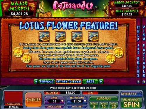 Catmandu review on Big Bonus Slots
