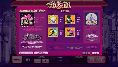 Catwalk review on Big Bonus Slots