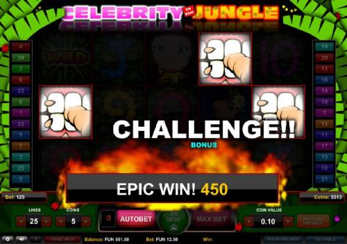 Celebrity in the Jungle review on Big Bonus Slots