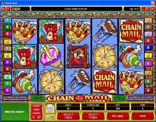 Chain Mail review on Big Bonus Slots