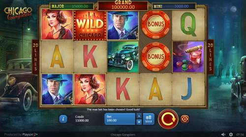 Chicago Gangsters review on Big Bonus Slots