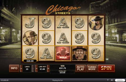 Chicago Streets review on Big Bonus Slots