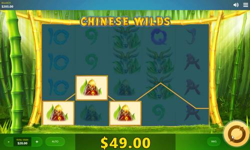 Chinese Wilds Big Bonus Slots A winning three of a kind
