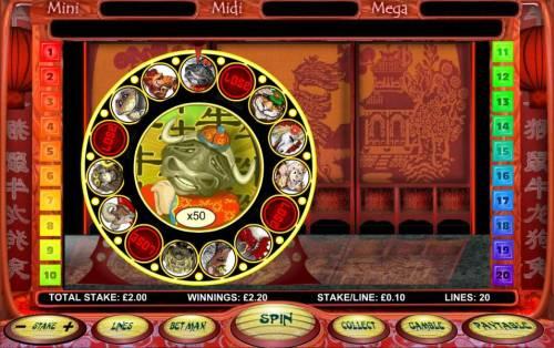 Chinese New Year Big Bonus Slots 50x multiplier awarded