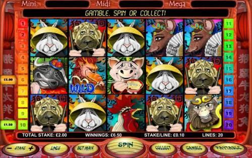 Chinese New Year Big Bonus Slots multiple winning paylines triggers a modest jackpot