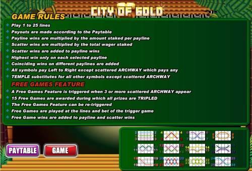 City of Gold review on Big Bonus Slots
