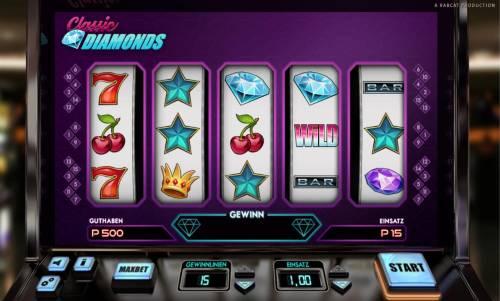 Classic Diamonds review on Big Bonus Slots