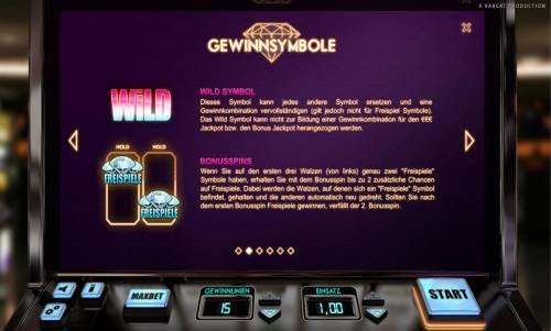 Classic Diamonds review on Big Bonus Slots