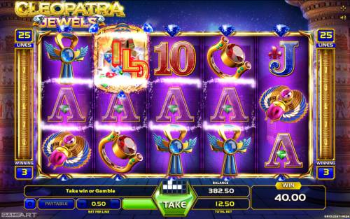 Cleopatra Jewels review on Big Bonus Slots