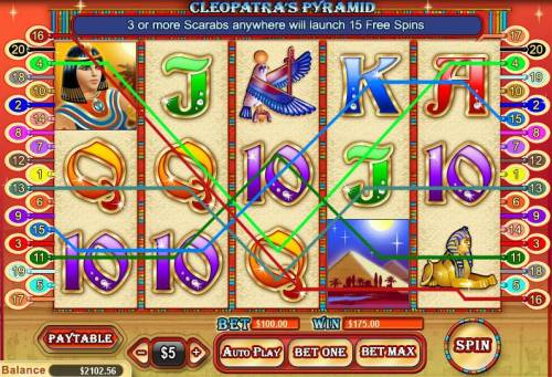Cleopatra's Pyramid review on Big Bonus Slots