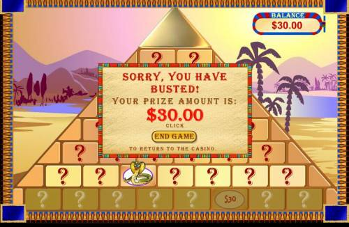 Cleopatra's Pyramid review on Big Bonus Slots