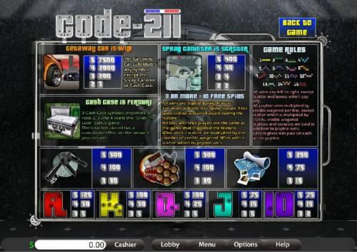 Code-211 review on Big Bonus Slots