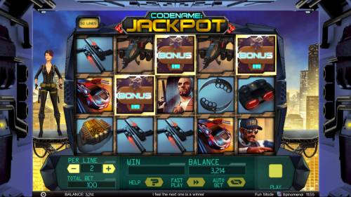 Codename: Jackpot review on Big Bonus Slots
